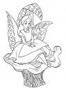 immagine di Alice seduta su una foglia