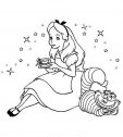 Immagine di Alice con lo stregatto