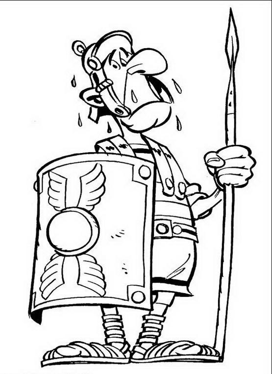 Asterix Da Colorare Disegni Gratis
