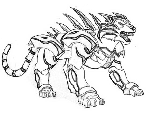 Bakugan da colorare disegni gratis for Bakugan drago coloring pages