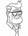 batman, disegno dell'ispettore