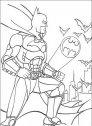 disegno di batman ed il simbolo dell'uomo pipistrello
