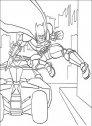 disegno di batman e la bat mobile