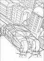 disegno della bat mobile