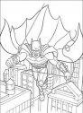 disegno di batman volante