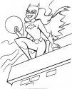 batman e catwoman sul tetto