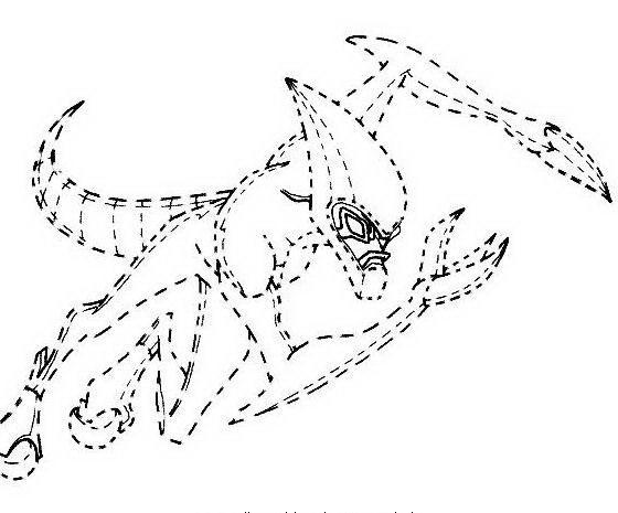 Ben ten da colorare disegni gratis for Disegni tratteggiati