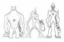 disegni di: homo sauro (homosauro oppure omosauro) il sinuoso fango fiammante (fangofiammante) e mutante tutti da ben10