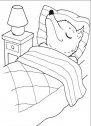 immagine del lupo nel letto della nonna