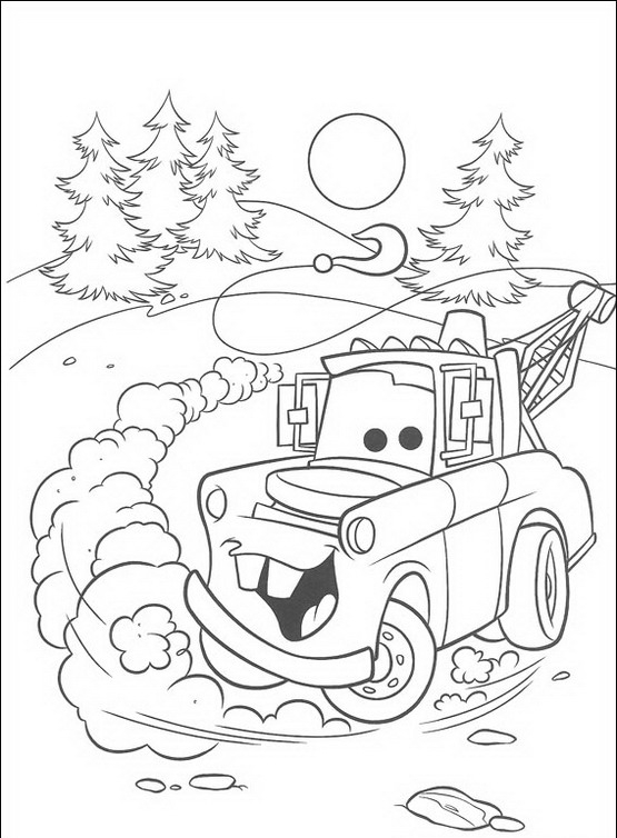 Cars da colorare disegni gratis for Disegni da stampare e colorare cars