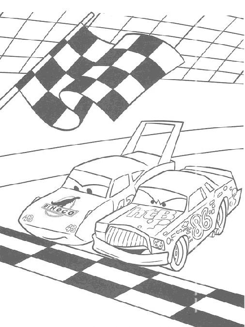 Cars Da Colorare Disegni Gratis