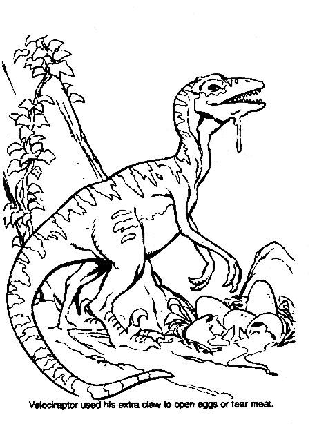 Dinosauri Da Colorare Disegni Gratis