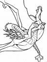stampa e colora il temibile drago
