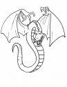 disegno di drago serpente