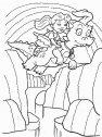 disegno di drago con bambina