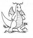disegno di drago da colorare