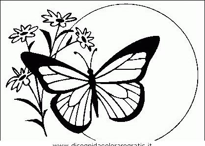 Farfalla Disegno Stilizzato Beautiful Stilizzato Farfalla Immagine