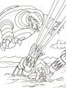 disegni di  goldrake in axione