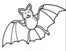 disegno di pipistrello