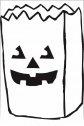 colora il sacco di halloween