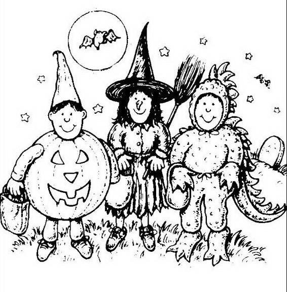 Halloween da colorare disegni gratis - Casa di halloween da colorare pagine da colorare ...
