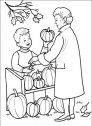 colora il venditore di zucche