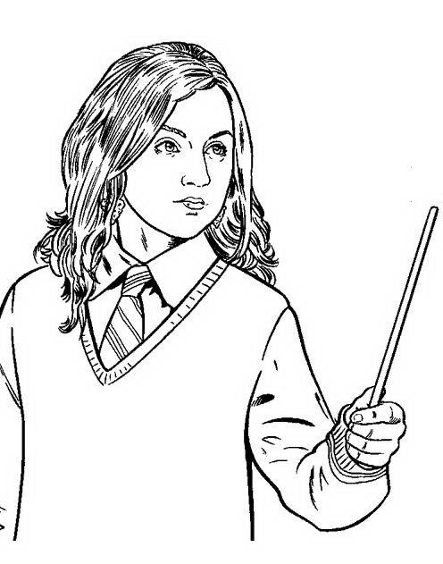 Harry Potter Da Colorare Disegni Gratis