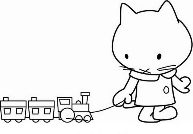 Hello Kitty Da Colorare Disegni Gratis