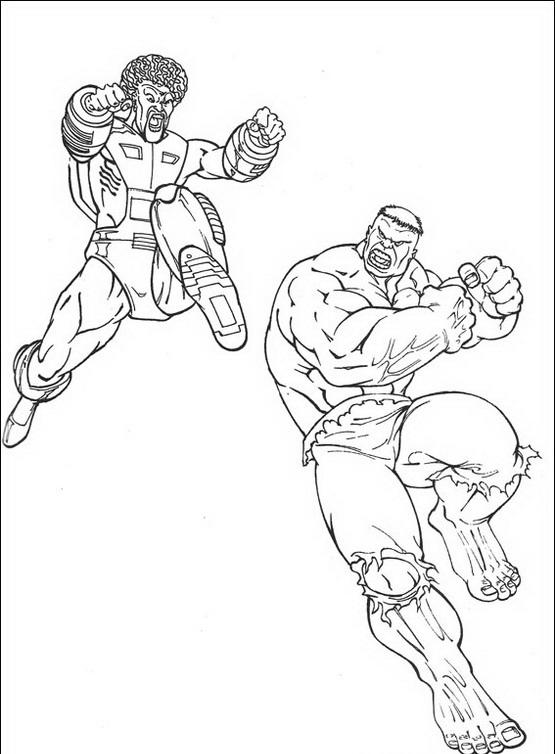 Hulk da colorare disegni gratis - Dessin de hulk a imprimer ...