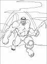immagine in bianco e nero di hulk