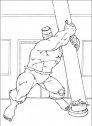 disegno di hulk che ha una forza incredibile