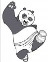 Disegno di kung fu panda