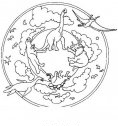 disegno mandala preistorico