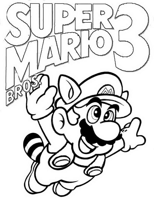 Mario Bros da colorare Disegni