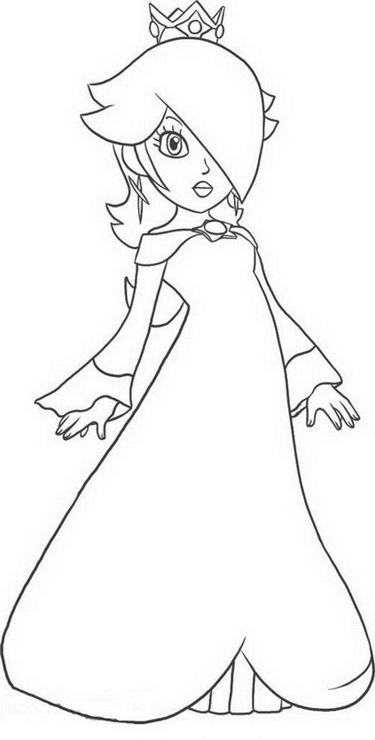 Daisy mario kart coloring pages sketch coloring page for Disegni da colorare super mario bros