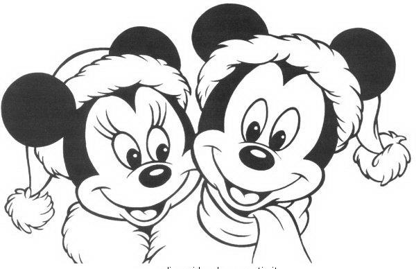 Minnie da colorare disegni gratis - Dessin mickey swag ...