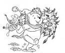 L'orsetto e la ghirlanda di Natale.