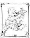 Winni the Pooh apre i regali.