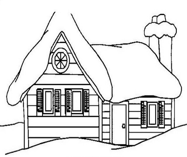 Foto disegno casetta pin pics photos disegno di ancora - Colorare la casa ...