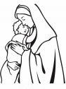 Immagine di Maria con Gesu.