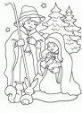 Immagine della Sacra famiglia.