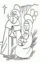 Giuseppe, Maria ed il bambino.