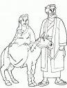 Immagine di Giuseppe e Maria.