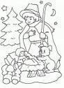 Immagine del pastorello che visita Gesu.