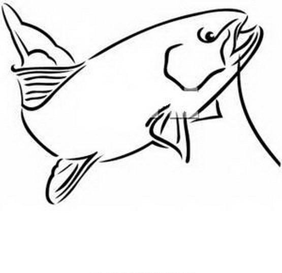 Pesci da colorare disegni gratis for Disegno pagliaccio da colorare