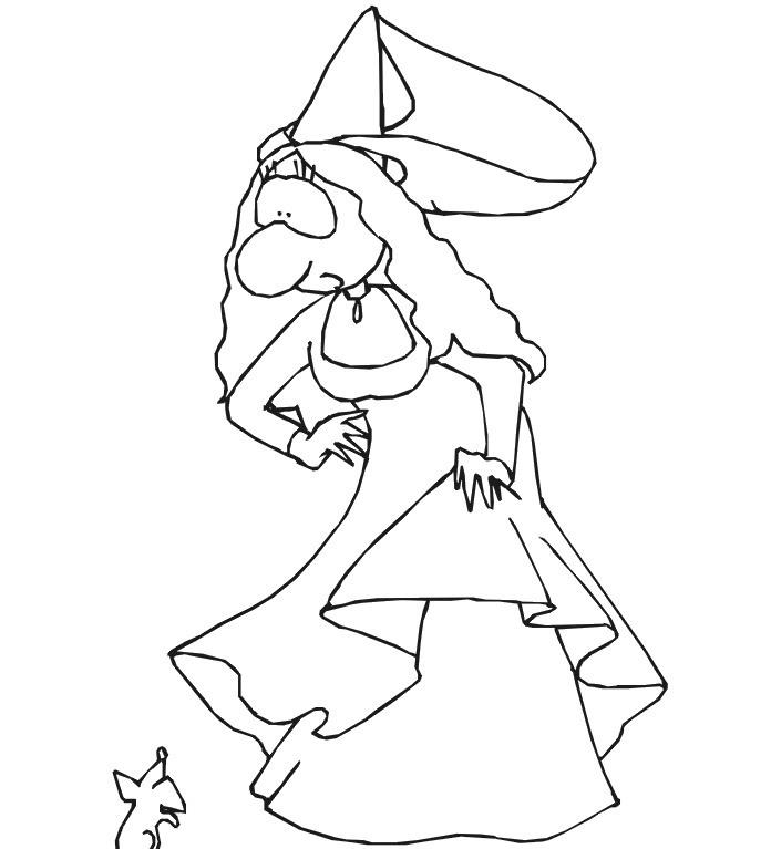 Principesse da colorare disegni gratis for Disegni di garage gratis