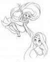 Rapunzel e i suoi capelli.