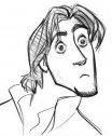 Colora il disegno di Flynn Rider