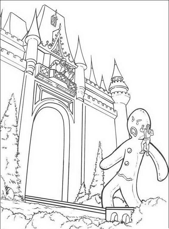 Shrek da colorare disegni gratis - Finestra da colorare ...