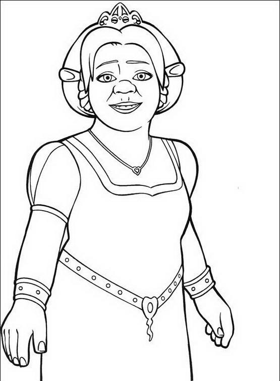 Shrek Da Colorare Disegni Gratis